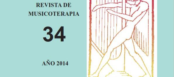 [Parution] Revue Espagnole MÚSICA, TERAPIA Y COMUNICACIÓN n°34