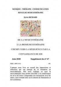parution supplément Sylvie Richard